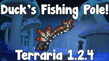 Sitting Duck's Fishing Pole - Terraria Wiki