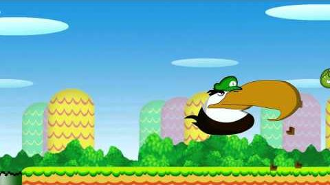 Angry birds super angry bros
