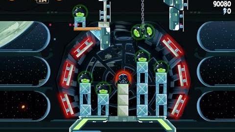 Death Star 2 6-26 (Angry Birds Star Wars)/Video Walkthrough