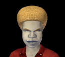 Sims with afro (fanon)