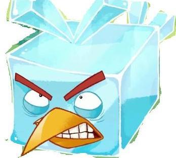 angry birds space ice bird - photo #22