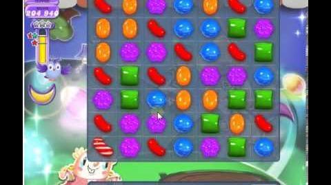 How to beat Candy Crush Saga Dreamworld Level 75 - 3 Stars - No