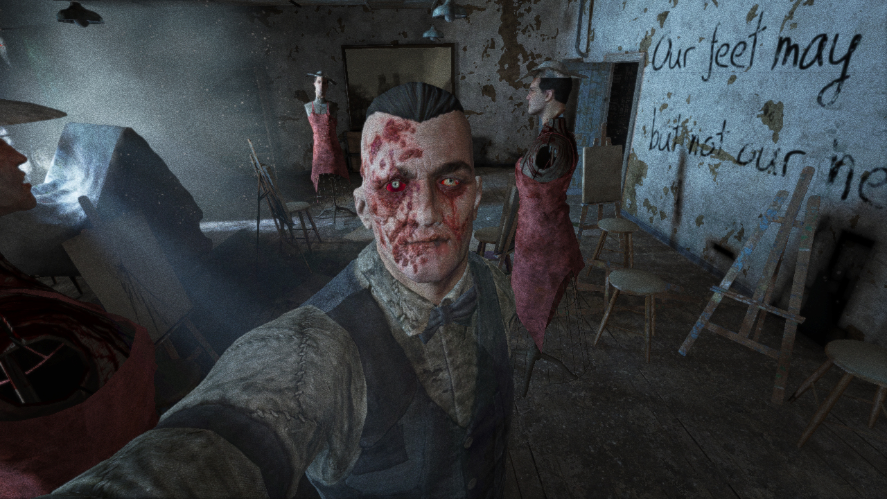 found Eddie Gluskin pretty disturbing  as well as creepy  I always