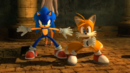 Sonic and Tails stand together Sonic 2006.png