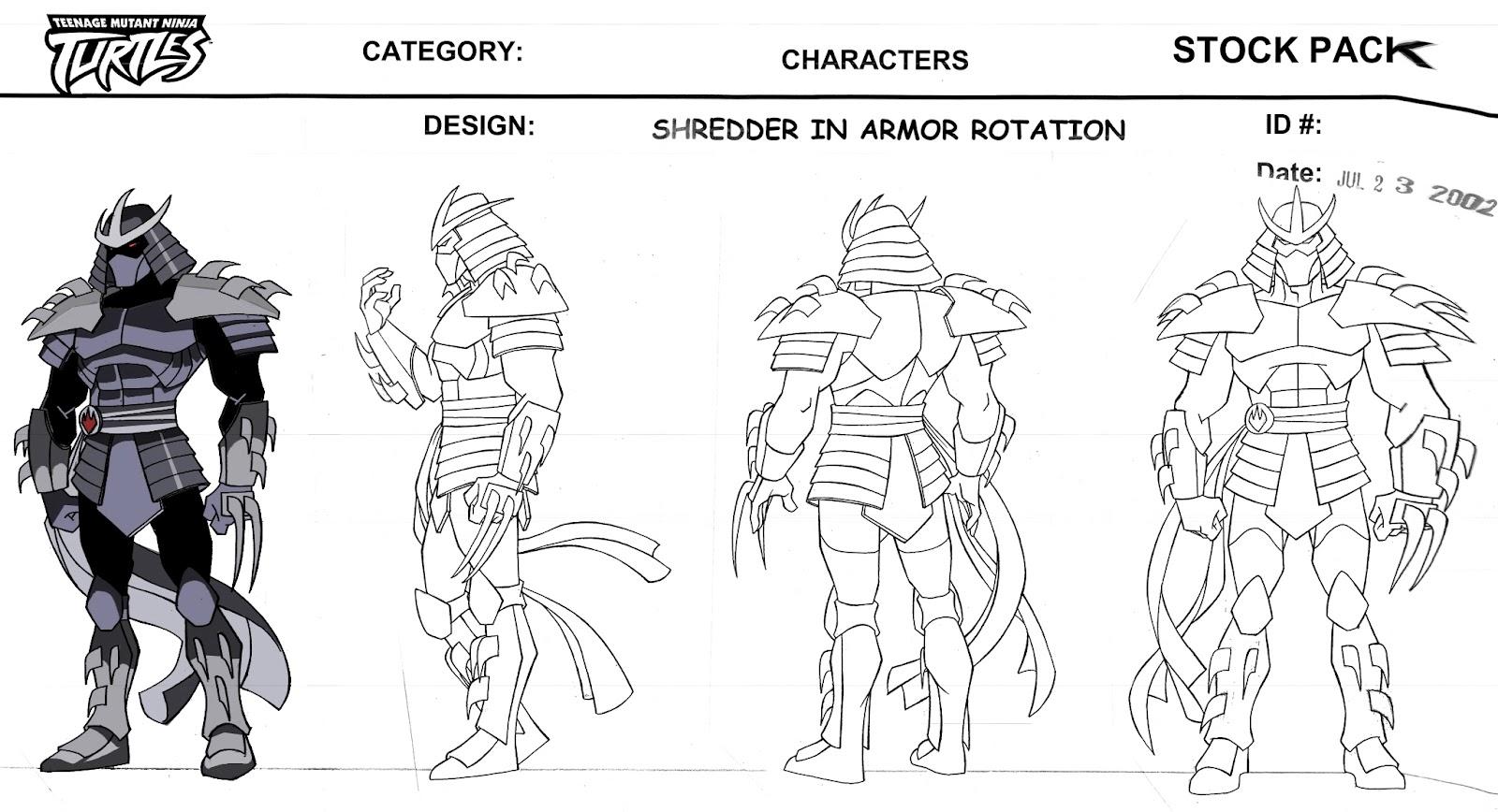teenage mutant ninja turtles coloring pages shredderconceptart2k3