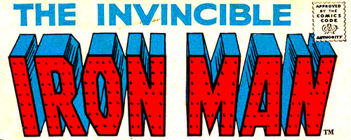 Iron Man Comic Book Logo Iron Man Vol 1 Logo