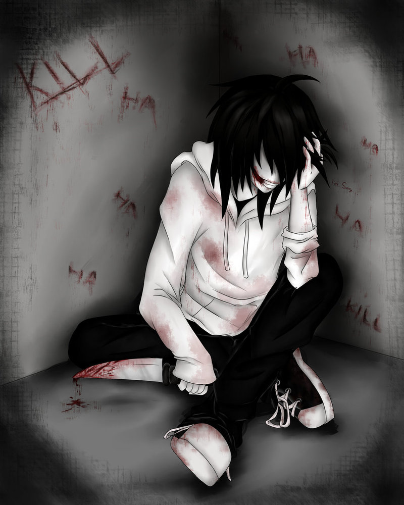 Jeff The Killer Anime Drawing Anime Jeff The Killer Jeff The