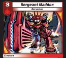 Sergeant Maddox