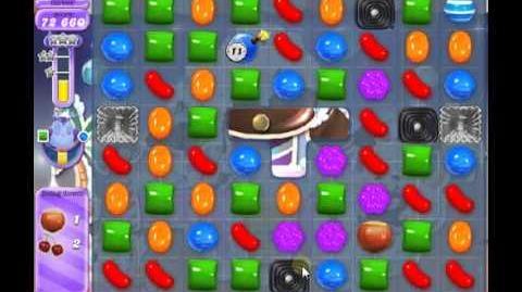 How to beat Candy Crush Saga Dreamworld Level 124 - 1 Stars - No