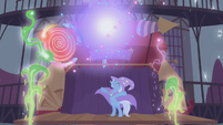 Trixie's stage shooting fireworks S1E06