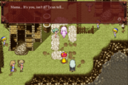 FFVI Android Terra Girl lovey-dovey Moment