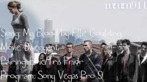 Divergent - Eric and Tris Blood