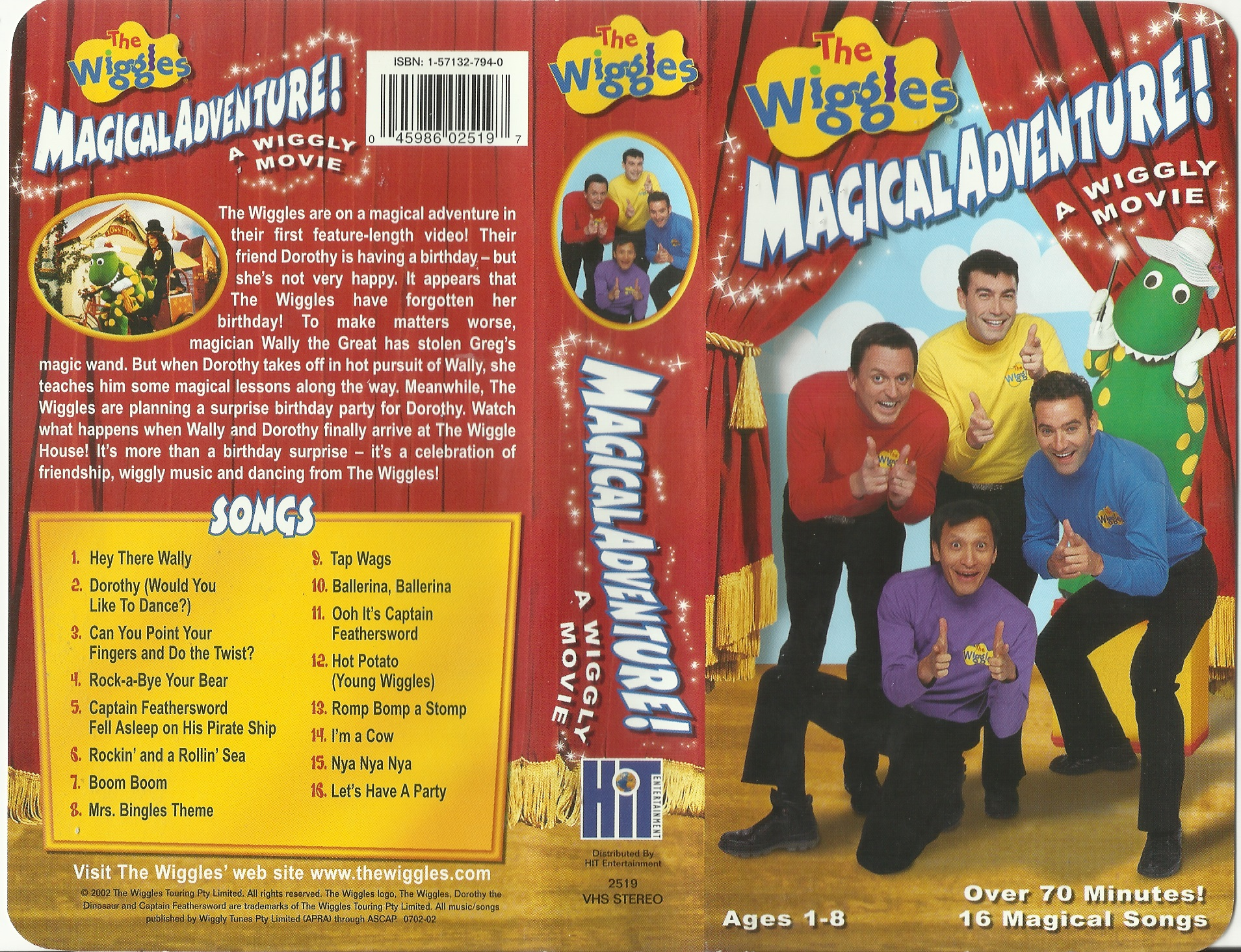 Magical Adventure A Wiggly Movie Wikiwiggles