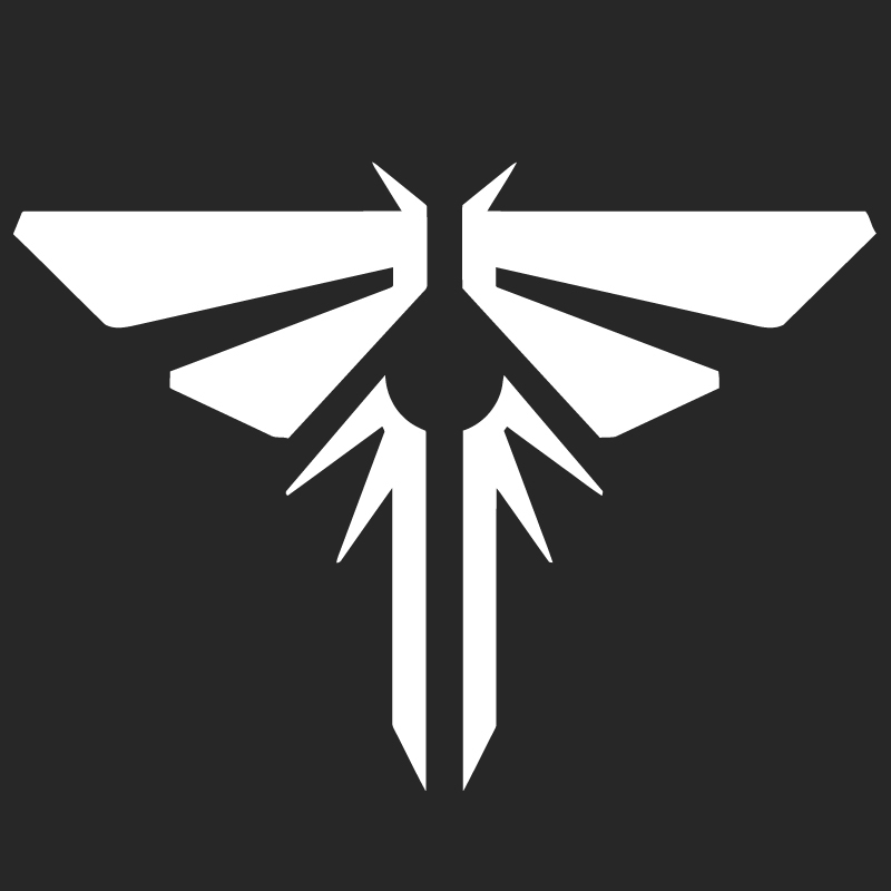 Firefly Symbol From The Last Of Us T Shirt Design Barber