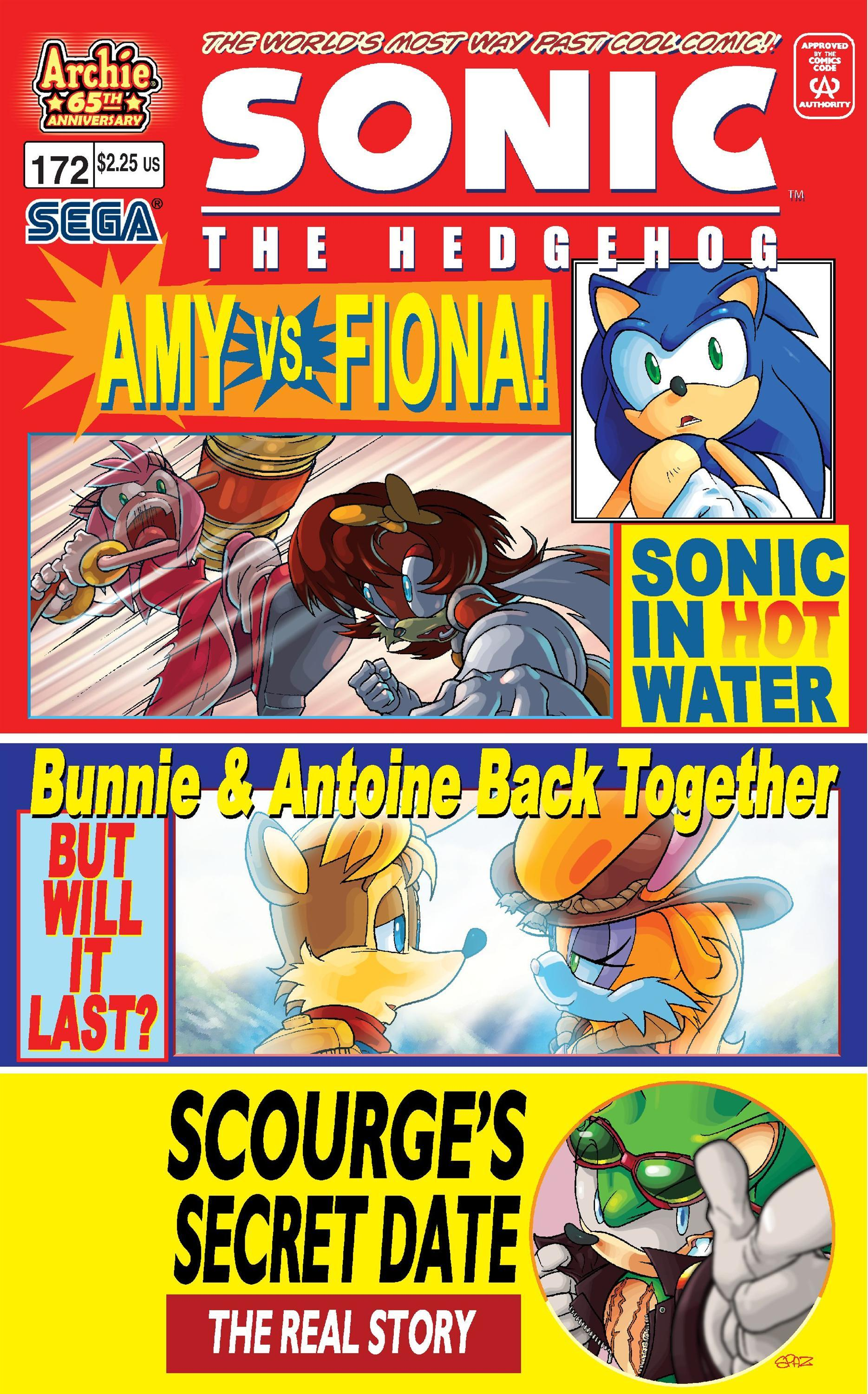 Archie Sonic The Hedgehog Issue 172 Sonic News Network