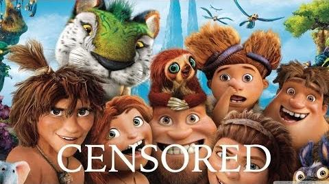 CROODS TURBO Unnecessary Censorship Recap Censored Funniest Best Moments Parody
