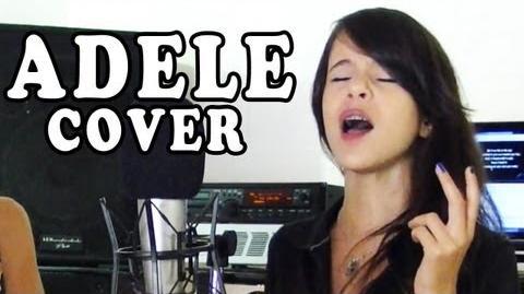 Adele SET FIRE TO THE RAIN - Marina DALMAS