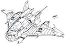 Concept Art - Godzilla vs. Destoroyah - Super X3 3.png