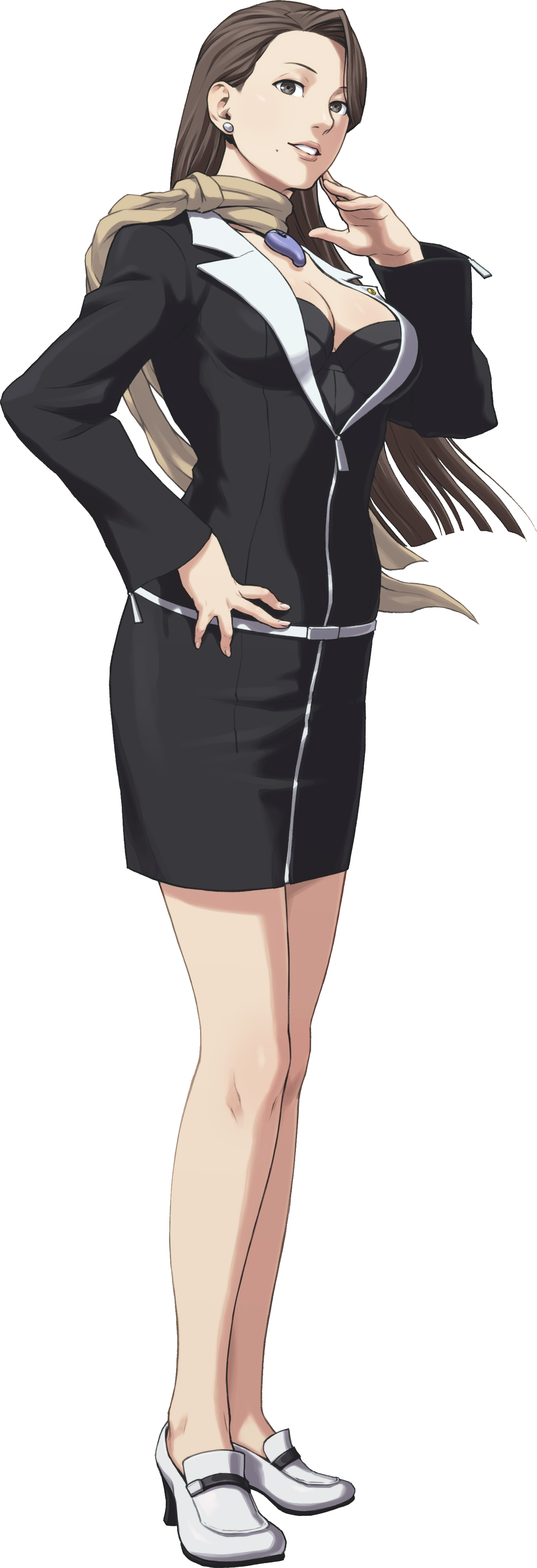 Phoenix wright ace attorney mia fey
