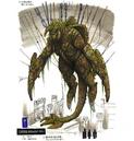 Concept Art - Godzilla Final Wars - Mummified Gigan 4.png