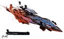 Concept Art - Godzilla Final Wars - Gotengo 8.png