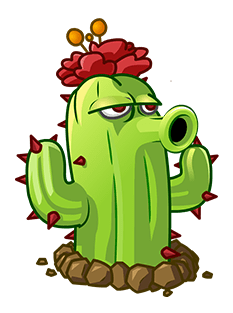 Image - Cactus.png - Plants vs. Zombies Roleplay Wiki Plants Vs Zombies Zombie Head Png