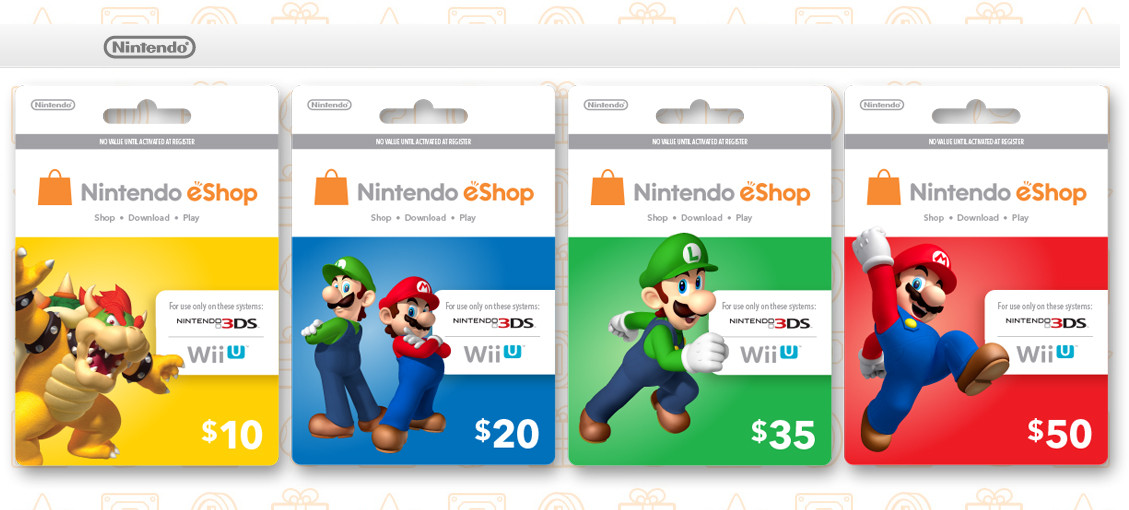 Eshop Gift Cards Online Generator For Free, Nintendo Eshop Gift ...