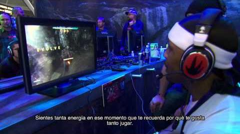 Evolve - CliffyB y Hip Hop Gamer jugando a Evolve en el PAX East 2014