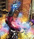 Xavin (Earth-616) and Karolina Dean (Earth-616) from Runaways Vol 2 30 001.jpg