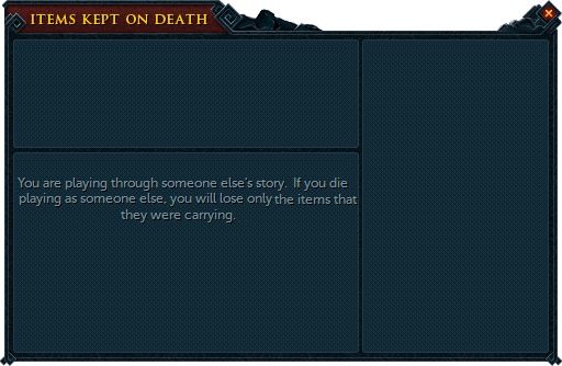 Items kept on death the runescape wiki for Portent of item protection
