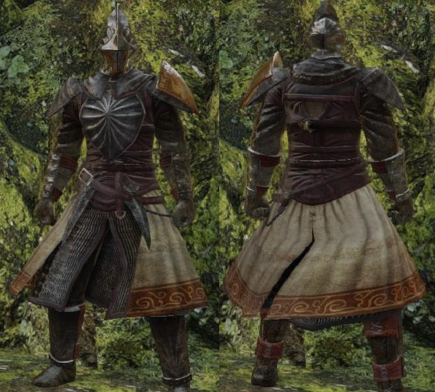 Dark Souls 2 Dark Armor Set
