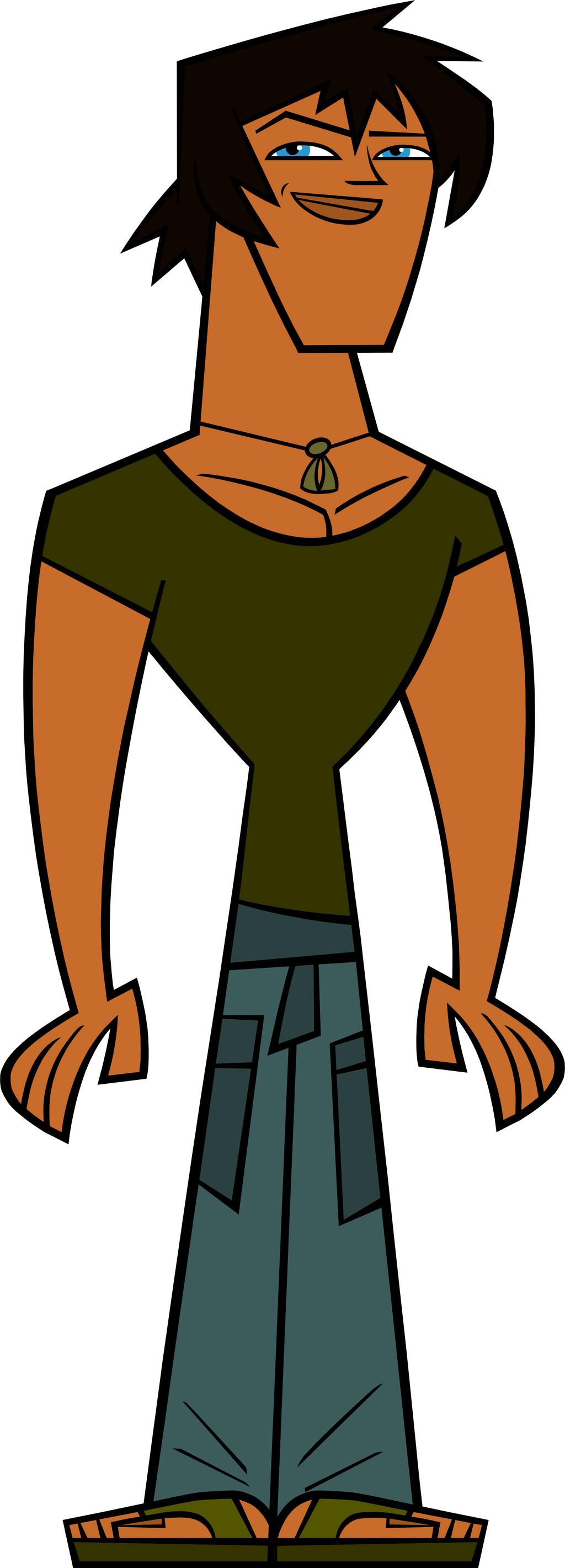 Matchless Total drama island he think, that