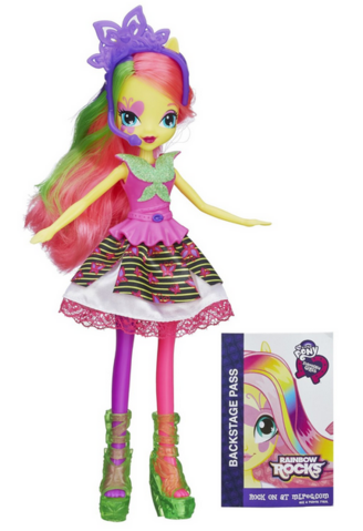 File:Fluttershy Equestria Girls Rainbow Rocks neon doll.png