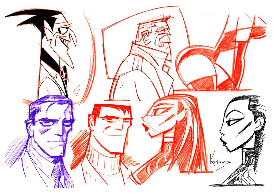 Beware The Batman Is This Concept Art For The Joker