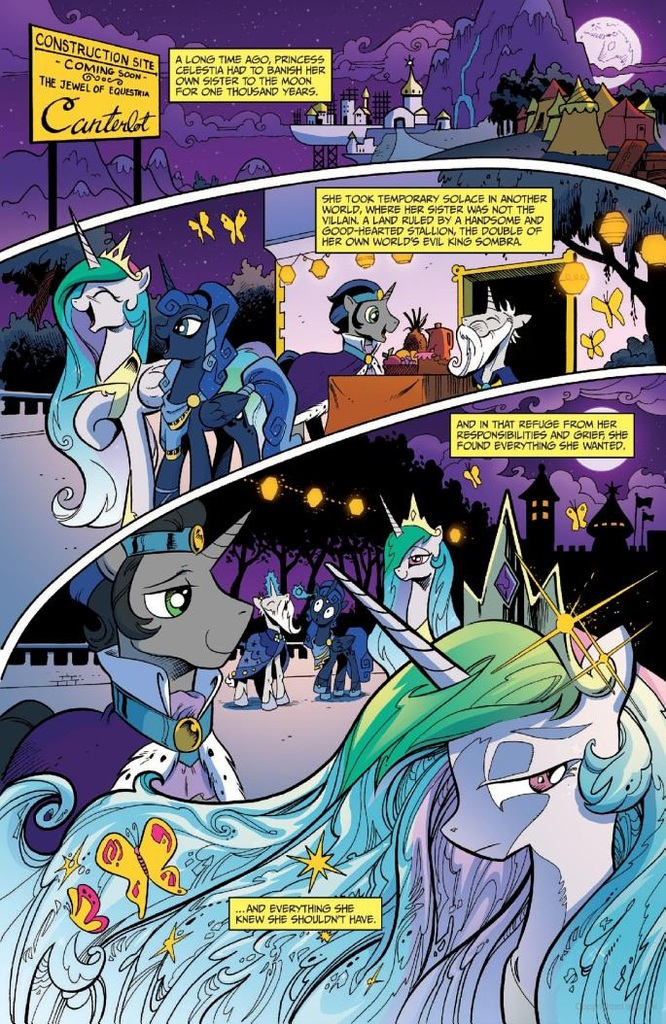 Equestria reflections storyline my little pony friendship is magic