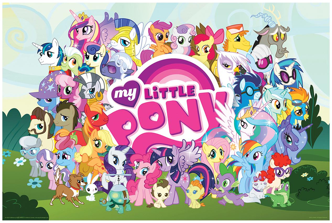 ... Pony Cast poster.png - My Little Pony Friendship is Magic Wiki - Wikia