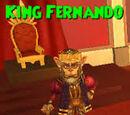 King Fernando VI of Monquista and Skull Island