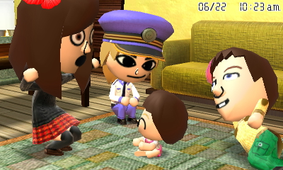 tomodachi life how to get a baby fast