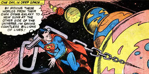 superman moving planets - photo #1