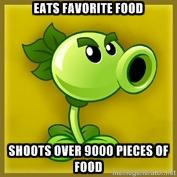 Image Repeater Plant Food Meme Jpg Plants Vs Zombies