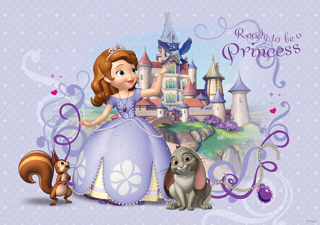 image sofia the first ready to be a princess wallpaper