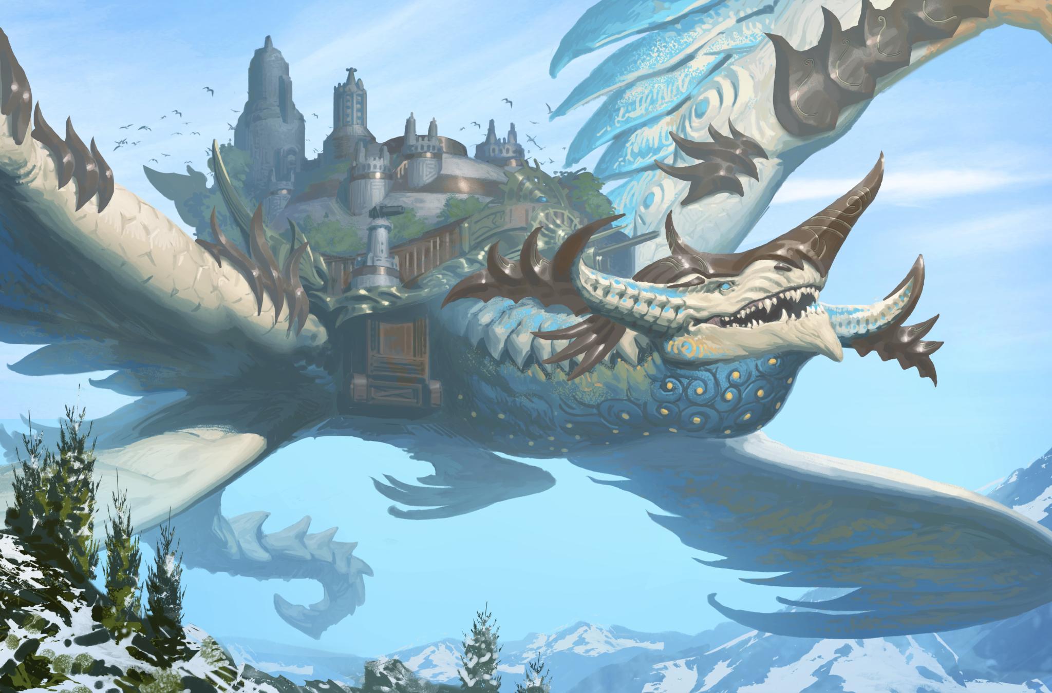 Colossus Dragon - Dragons Of Atlantis Wiki