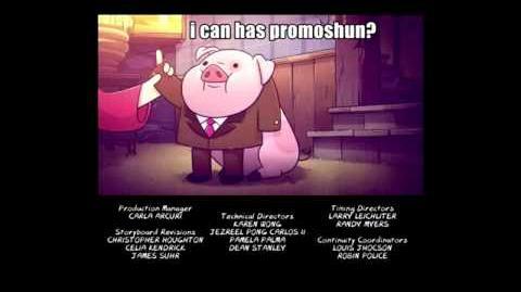 Gravity Falls - Pato y los mensajes memes español latino HD