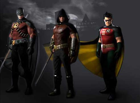 Batman Arkham City Nightwing And Robin batman arkham city robin and