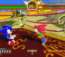 Sonic the Fighters arenas