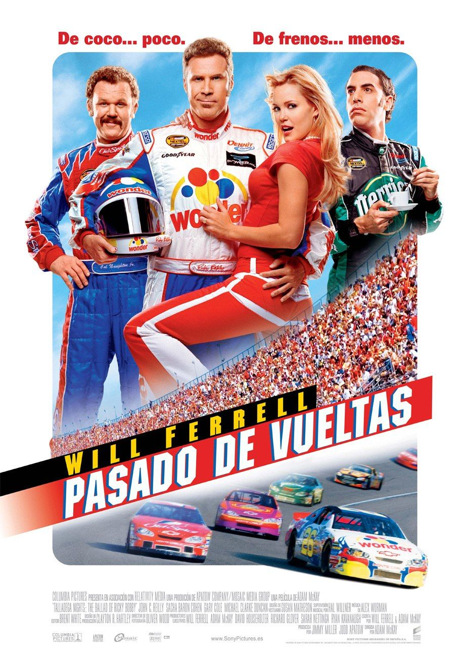 file 2006 talladega nights the ballad of ricky bobby movie poster spanish version jpg. Black Bedroom Furniture Sets. Home Design Ideas