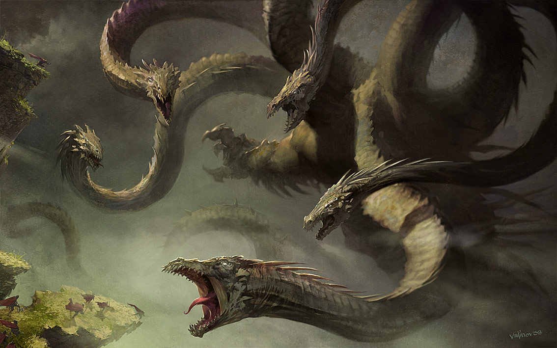 Hydra Monster Wiki File:hydra Monster by Velinov