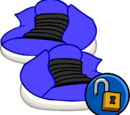 Zapatos Azul Eléctrico