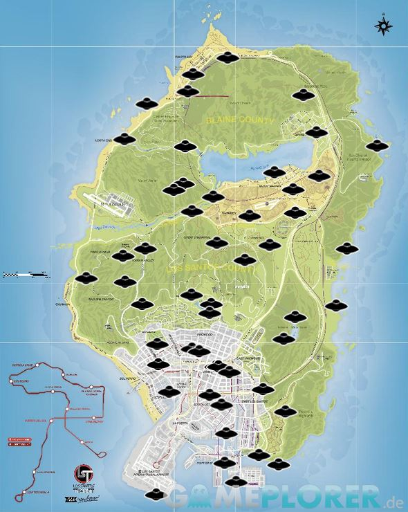 Gta  Leonora Johnson Letter Locations Map