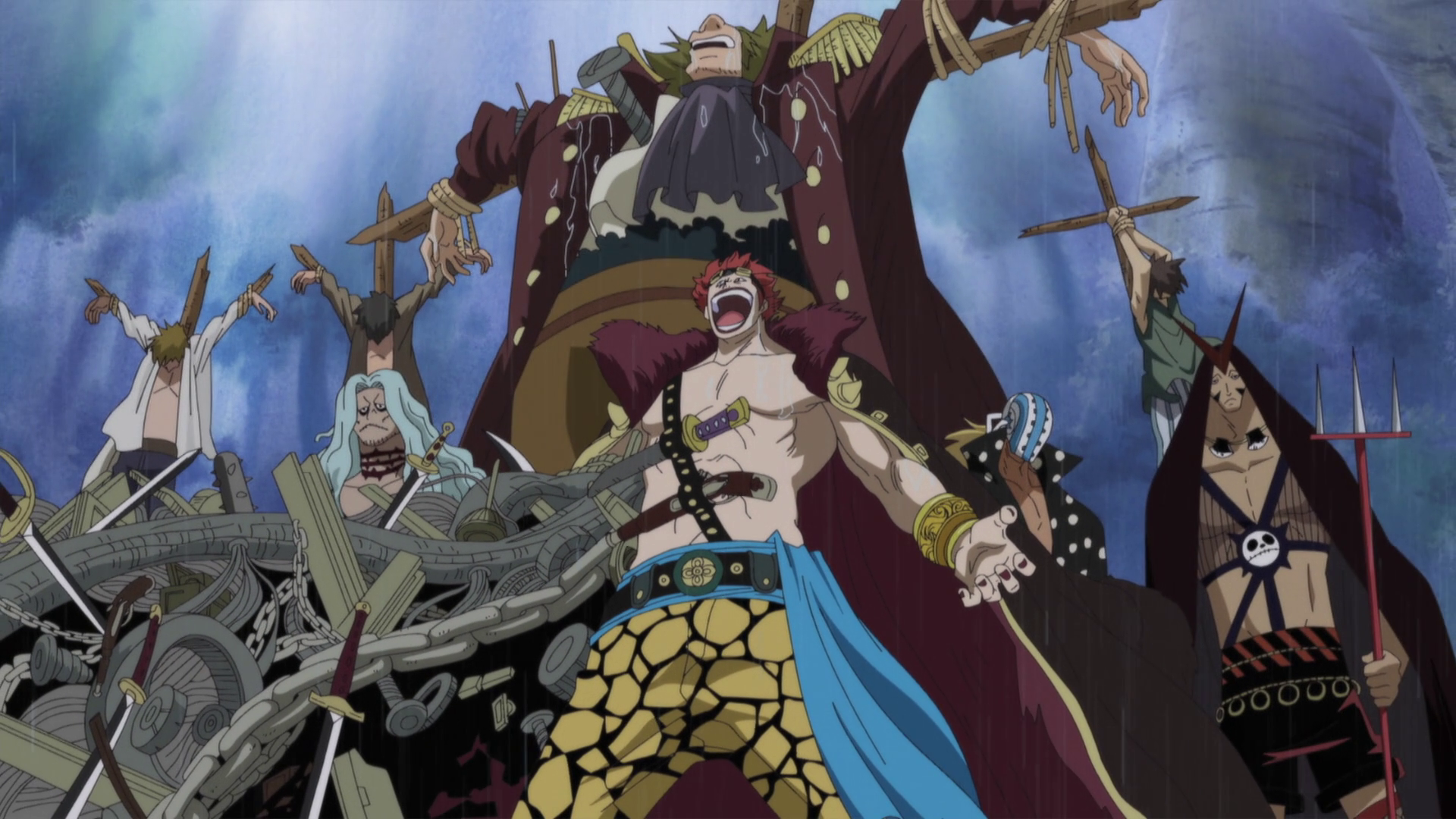 Eustass Kid - The One Piece Wiki - Manga, Anime, Pirates ...